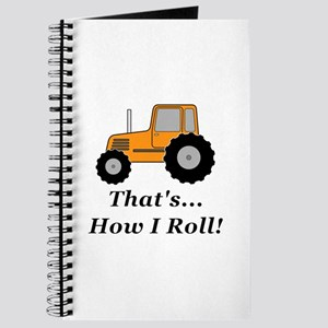 Tractor How I Roll Journal