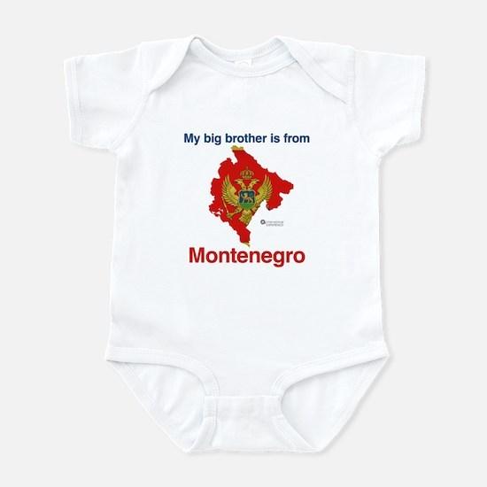 My Big Brother - Montenegro - Ligh Infant Bodysuit