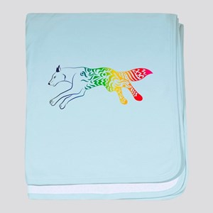 magic fox baby blanket