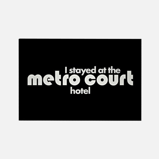 Metro Court Rectangle Magnet