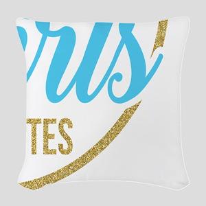 Golden Girls - Fluent Quotes Woven Throw Pillow