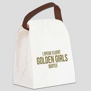 Golden Girls - Fluent Quotes Canvas Lunch Bag