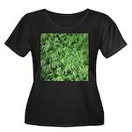 Green Moss Plus Size T-Shirt