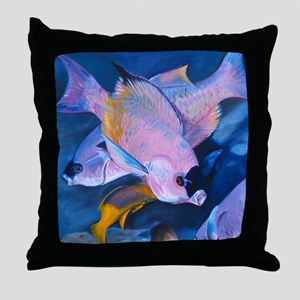 Creole Cleaning Throw Pillow