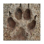 Coyote Track Tile Coaster