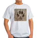 Coyote Track Light T-Shirt