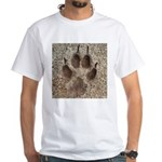 Coyote Track White T-Shirt