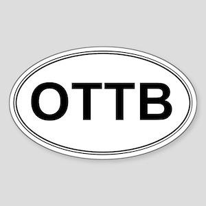 OTTB_trans Sticker