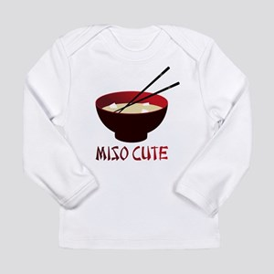 miso_cute_v1 Long Sleeve T-Shirt