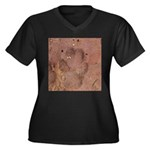 Coyote Front Track Plus Size T-Shirt