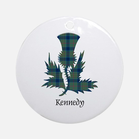 Thistle - Kennedy Ornament (Round)