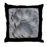 Ringtail Track Throw Pillow