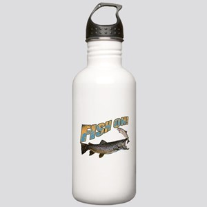Fish on brown trout fe Stainless Water Bottle 1.0L
