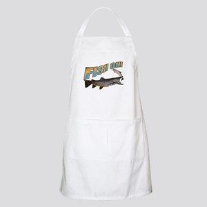 Fish on brown trout feeding Apron