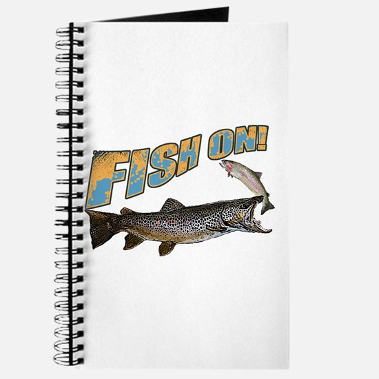 Fish on brown trout feeding Journal