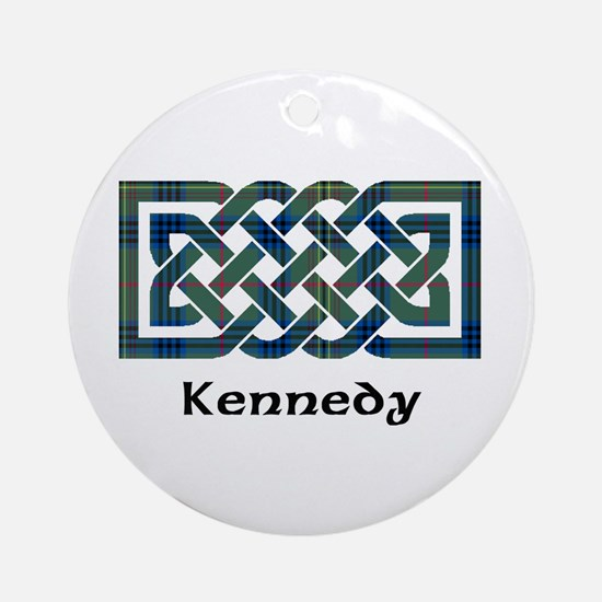 Knot - Kennedy Ornament (Round)