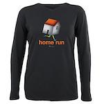 Home Run - SEE BACK Plus Size Long Sleeve Tee
