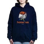 Home Run - SEE BACK Women's Hooded Sweatshirt