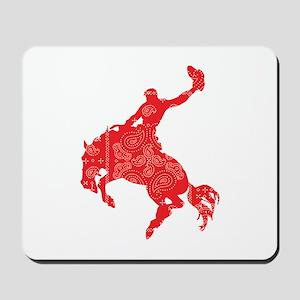 Bandana Bronco Mousepad