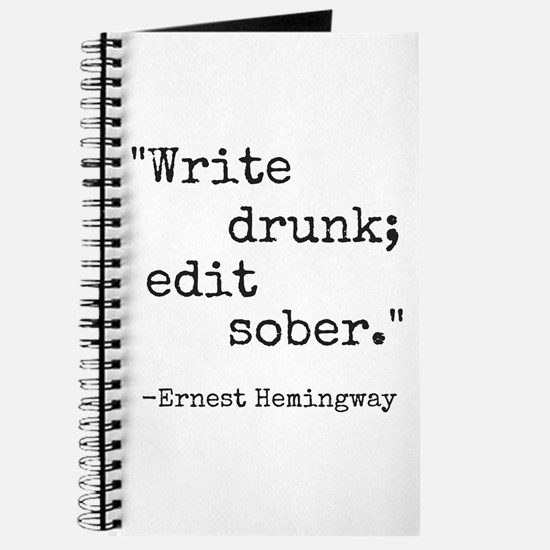 Write Drunk Journal