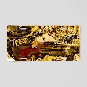 Nuclear Cowboy Aluminum License Plate