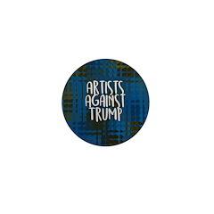 Artists Against Trump Mini Button