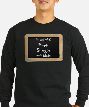 Math Teacher Gifts Long Sleeve T-Shirt