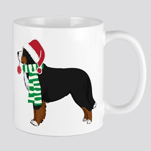 Christmas Bernese Mt Dog Mug