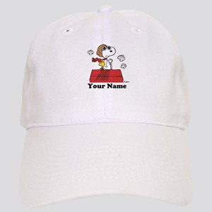 Peanuts Flying Ace Personalized Cap