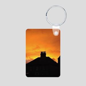 Sunset House Keychains