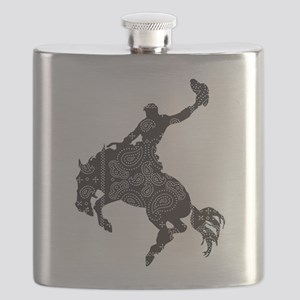 Bandana Bronco Flask