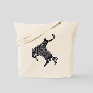 Bandana Bronco Tote Bag