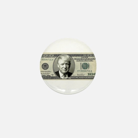 Trump Bill Mini Button