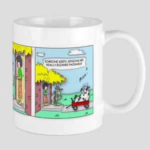 Cow Delivery Mugs