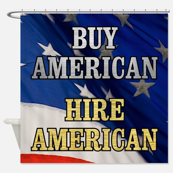BUY HIRE AMERICAN Shower Curtain