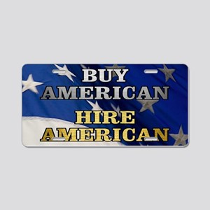 BUY HIRE AMERICAN Aluminum License Plate