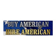 BUY HIRE AMERICAN Wall Decal