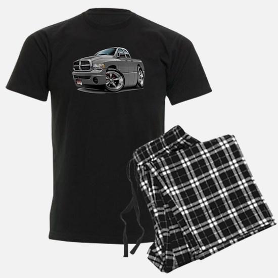 2-Ram Quad Grey Pajamas