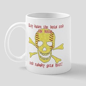 Softball Pirate Mug