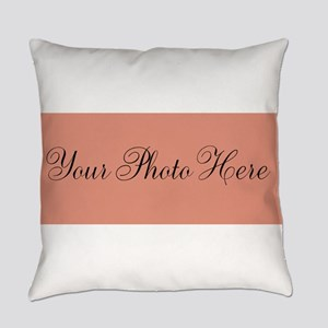 Your Photo Here Everyday Pillow
