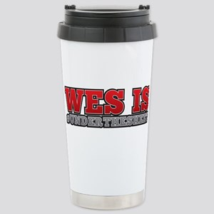 HTGAWM Wes is Under the Stainless Steel Travel Mug