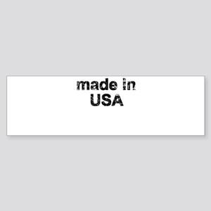 made in USA Bumper Sticker