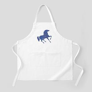 Bandana Rodeo Horse Light Apron