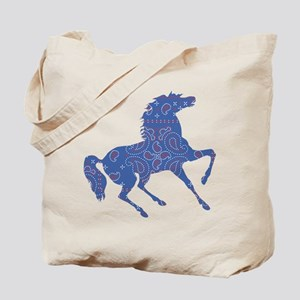 Bandana Rodeo Horse Tote Bag