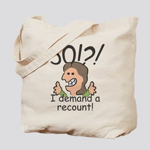 Recount 50th Birthday Tote Bag