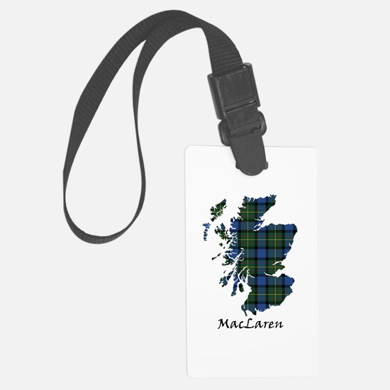 Map - MacLaren Luggage Tag