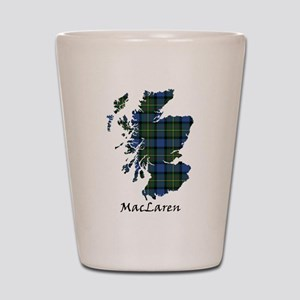 Map - MacLaren Shot Glass