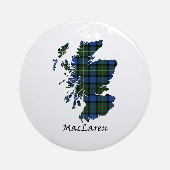Map - MacLaren Ornament (Round)