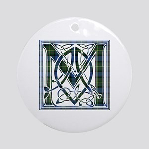 Monogram - MacLaren Ornament (Round)