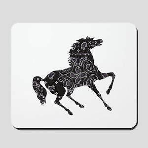 Bandana Rodeo Horse Mousepad